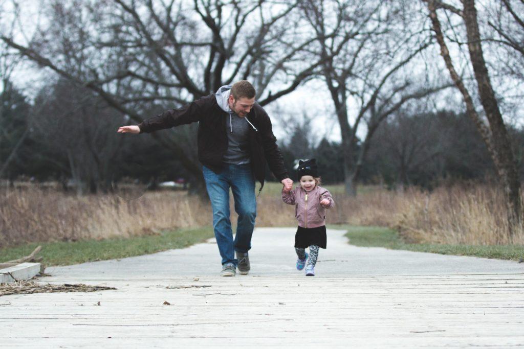 Баща и дете - снимка