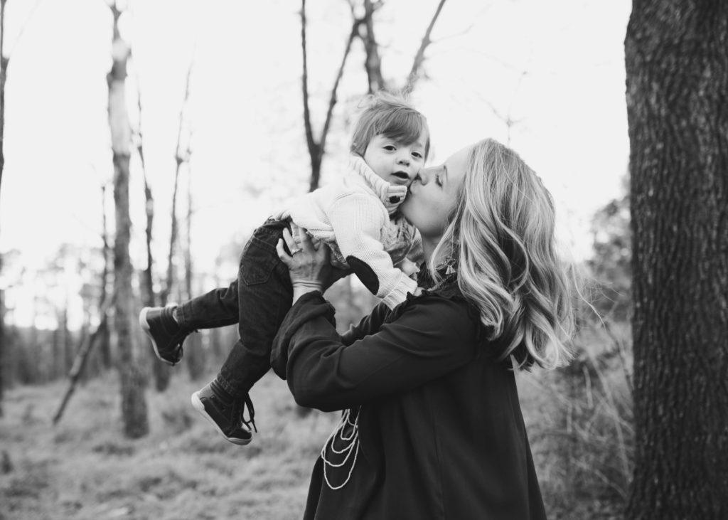 Снимка на майка и дете