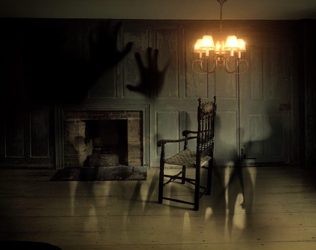 тъмна и страшна стая - снимка
